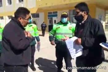 Melgar: Médicos anuncian denunciar a fiscal y policías de Ayaviri por abuso de autoridad - Pachamama radio 850 AM