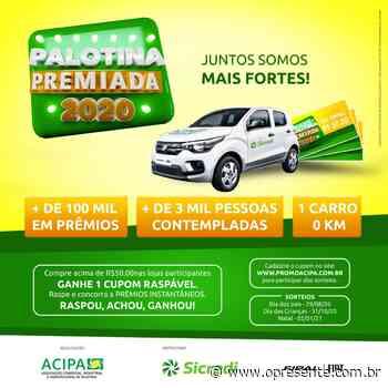 79 empresas aderem à Promoção Palotina Premiada que vai sortear mais de R$ 100 mil em prêmios - O Presente