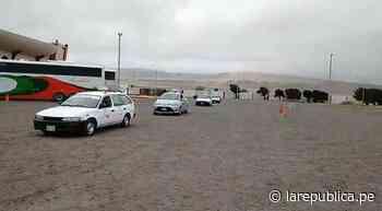 Moquegua: Taxistas reciben permisos para reiniciar servicio en Ilo - LaRepública.pe