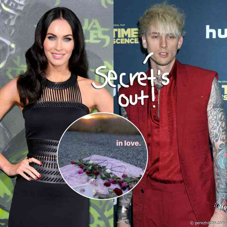 Machine Gun Kelly Declares He's 'In Love' With Megan Fox On Romantic Picnic Date!
