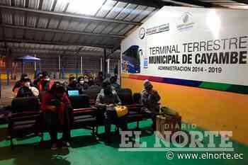 Terminal Terrestre de Cayambe abre sus puertas tras la emergencia - Diario EL NORTE - Diario El Norte