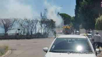 Près de Montpellier : à Grabels, une personne blessée dans l'incendie de son jardin - Midi Libre