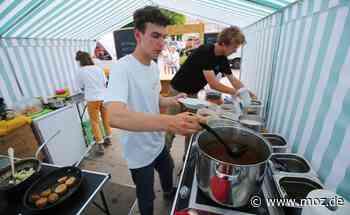 Gastronomie: Sterneküche auf dem Wochenmarkt von Eberswalde - Märkische Onlinezeitung