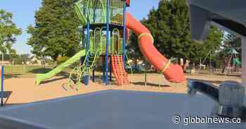 Outdoor sinks installed in Pincourt, Que., parks and playgrounds - Global News