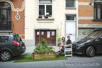 Een parkeerplaats is geen tuintje