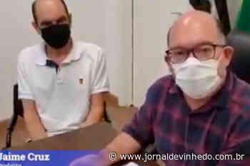 Após mortes por covid-19, Jaime diz que Vinhedo pode voltar a fechar o comércio - Jornal de Vinhedo