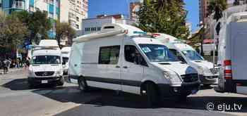 Gobierno envía ambulancias a Santa Cruz, Cochabamba y Pando - eju.tv