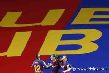 Fati y Messi dan color a la victoria del Barca - El Vigia.net