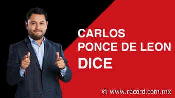 Percepción es realidad - Carlos Ponce de Leon   RÉCORD - Diario Deportivo Récord