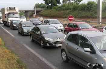 Gennevilliers. Accident entre trois voitures sur l'A15, près de 10km de bouchons - actu.fr