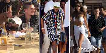 Neymar feiert trotz Corona eine Strandparty - Nau.ch