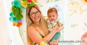 Marília Mendonça comemora 5 meses do filho, Léo, em festa com Murilo Huff - Purepeople.com.br