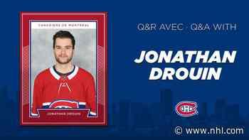 Conference call: Jonathan Drouin - NHL.com