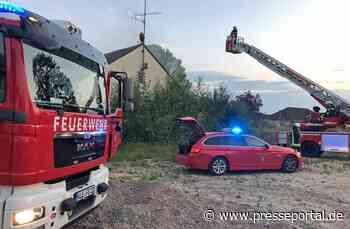 FF Goch: Brandstiftung in ehemaligem Wachgebäude - Presseportal.de