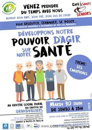 Grandvilliers : trois ateliers « Café Santé » ouverts à tous - L'observateur de Beauvais