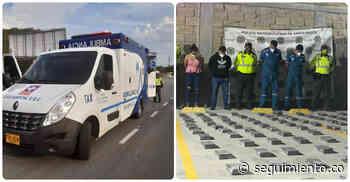 Detienen ambulancia en la vía Ciénaga-Santa Marta que llevaba cocaína en vez de paciente - Seguimiento.co