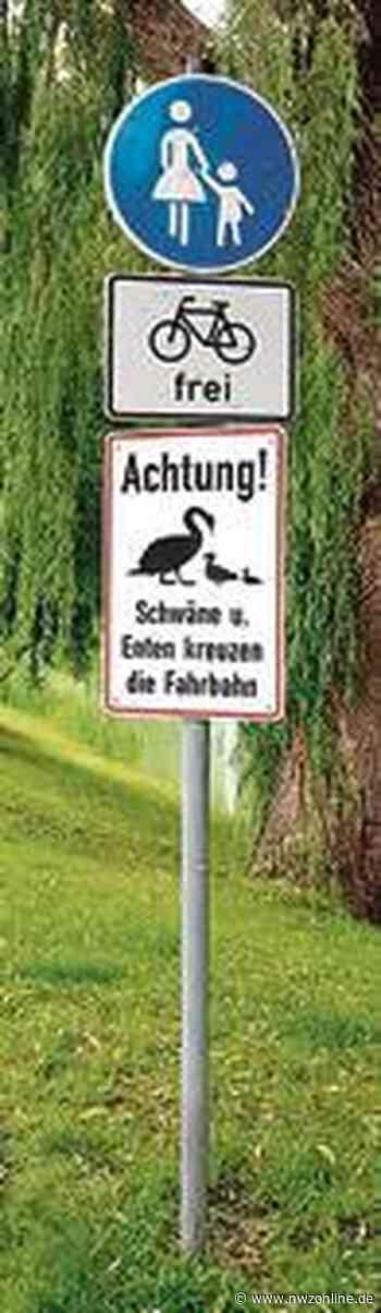 : Dieses Schild ist keine Ente - Nordwest-Zeitung