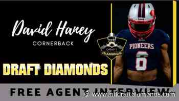 Meet free agent cornerback prospect David Haney - NFL Draft Diamonds