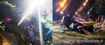 Incidente stradale a San Nicola la Strada: auto si ribalta - L'Occhio di Caserta