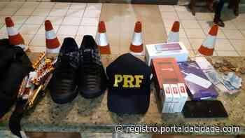PRF prende suspeito de furtar comércio em Barra do Turvo - Adilson Cabral