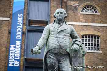 Tower Hamlets removes Docklands statue of slave trader - CityAM - City A.M.