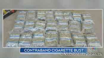 Hagersville men charged in multi-million dollar contraband cigarette bust - CTV News