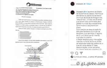 Prefeituras de Paragominas e Barcarena retiram 7 óbitos do portal da Covid-19, diz Sespa - G1