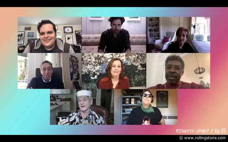 Watch Bill Murray, Dan Aykroyd Join 'Ghostbusters' Cast Zoom Reunion - Rolling Stone