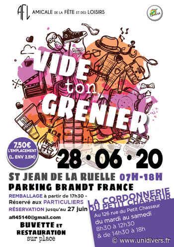 VIDE TON GRENIER Parking BRANDT dimanche 28 juin 2020 - Unidivers