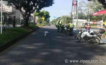 Ciclista murió en la Avenida Cañasgordas, sur de Cali, este martes - El País