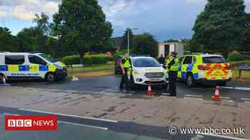 Swindon shooting: Man shot in leg by police after lorry stolen