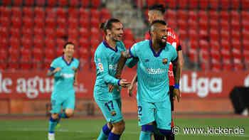 Blitztor Arturo Vidal, Leo Messi ganz spät: Barça siegt klar - kicker - kicker