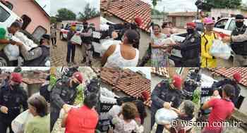 TRE-PB e Polícia Militar levam alimentos a famílias carentes em Guarabira - WSCom online