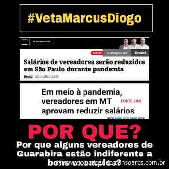 Aumento de salários de vereadores de Guarabira ainda repercute e jovem liderança do município ressalta indiferença dos parlamentares a bons exemplos - Blog do Anderson Soares