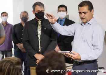 Após morte de Zenóbio, Marcus Diogo é efetivado como prefeito de Guarabira - Polêmica Paraíba - Polêmica Paraíba