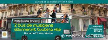 Fête de la musique 2020 à Montrouge - Sortiraparis.com - sortiraparis