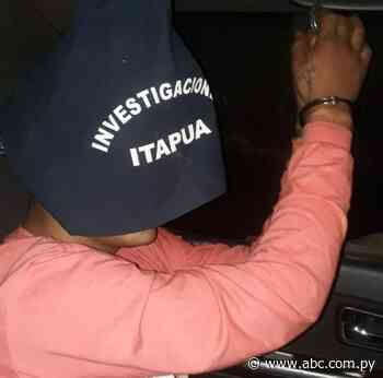 Buscado por homicidio de una despensera fue detenido en Itapúa Poty - Nacionales - ABC Color