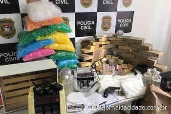 Dise descobre armazém de drogas em Francisco Morato - Jornal da Cidade - Jundiaí