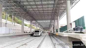 Novas imagens da futura estação Francisco Morato, na Linha 7-Rubi da CPTM - Via Trolebus