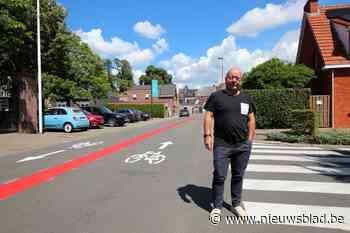 Lint krijgt zijn eerste twee fietsstraten (Lint) - Het Nieuwsblad
