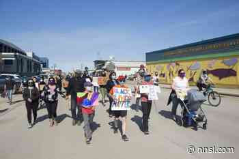 Inuvik marches in solidarity with Black Lives Matter protests - NNSL Media
