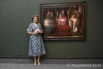 Koningin Mathilde bezoekt museum geheel in stijl - Blauw Bloed