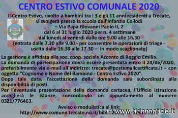 Trecate, il 6 luglio via al centro estivo - Ticino Notizie
