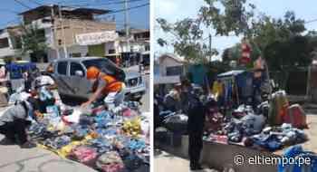 Paita: ambulantes invaden calles cerca a mercado - Diario El Tiempo - Piura