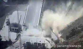 Piura: derrumbe daña infraestructura del terminal portuario de Paita | Panamericana TV - Panamericana Televisión