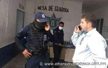 Acusan arbitrariedad en detención del comunicador Juan Urcola en Macuspana - El Heraldo de Tabasco