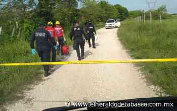 Lo asesinan y abandonan en un camino de terracería en Macuspana - El Heraldo de Tabasco
