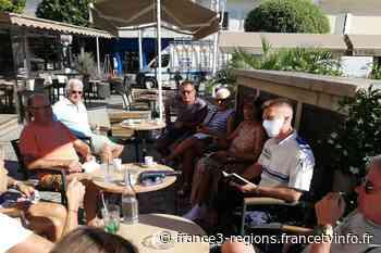 Prendre un café-croissant avec un policier pour mieux se connaître, l'idée de la ville de Cavalaire-sur-Mer da - France 3 Régions