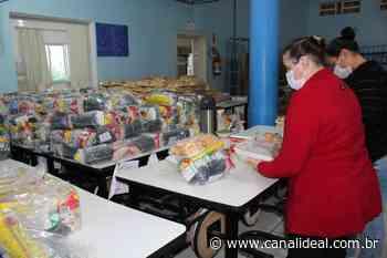 Secretaria de Educação de Faxinal dos Guedes realiza mais uma entrega dos kits emergenciais de alimentação escolar - Canal Ideal