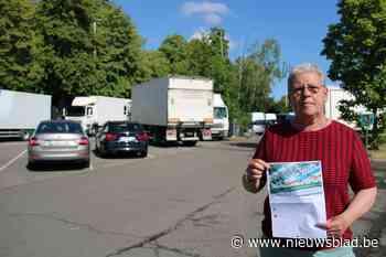 Gedaan met kriskas door mekaar parkeren: carpoolparking Meise wordt heringericht - Het Nieuwsblad